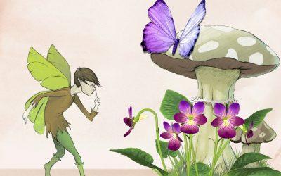 Fairies helping mortals